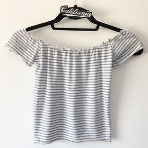 Brandy Melville Ruched Tee